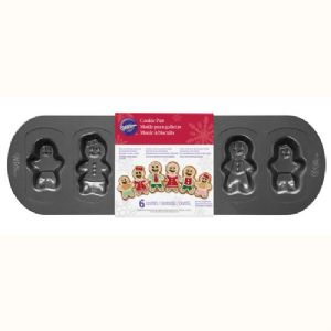 Cookie Pan Gingerbread Family